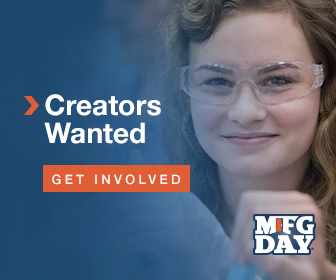 Creators wanted. Get involved! Manufacturing Day 2019
