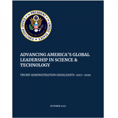 Advancing America's Global Leadership in Science and Technology