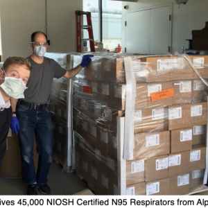 AFFOA receives NIOSH N95 respirators