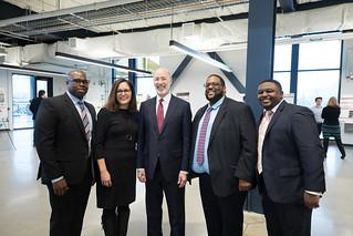 Governor Wolf Visits Mill 19