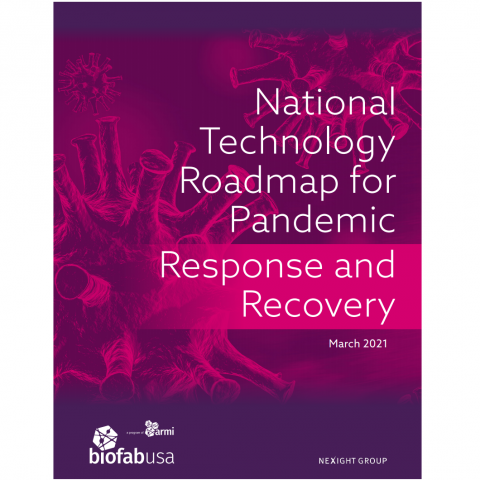 National Technology Roadmap for Pandemic
