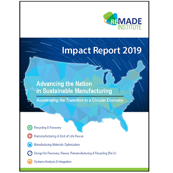 REMADE Institute Impact Report Cover