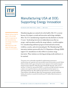 DOE: Supporting Energy Innovation report cover