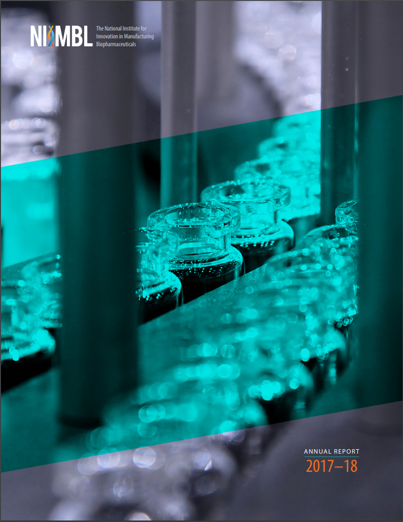 NIIMBL Annual Report 2017-18 Cover