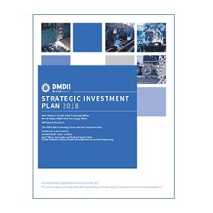 Cover image DMDII 2018 Strategic Investment Plan