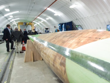 Image for IACMI Wind Blade Prototype Finalist for Combined Strength Award to be...